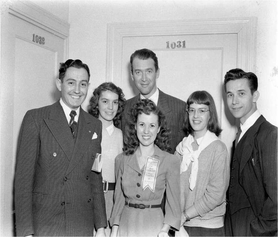 Jimmy Stewart, Frank Capra graced Beaumont for \'It\'s A Wonderful ...