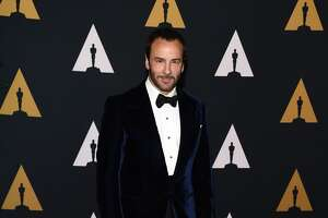 HOLLYWOOD, CA - NOVEMBER 12:  Designer Tom Ford arrives at the Academy of Motion Picture Arts and Sciences' 8th Annual Governors Awards at The Ray Dolby Ballroom at Hollywood & Highland Center on November 12, 2016 in Hollywood, California.  (Photo by Amanda Edwards/WireImage)
