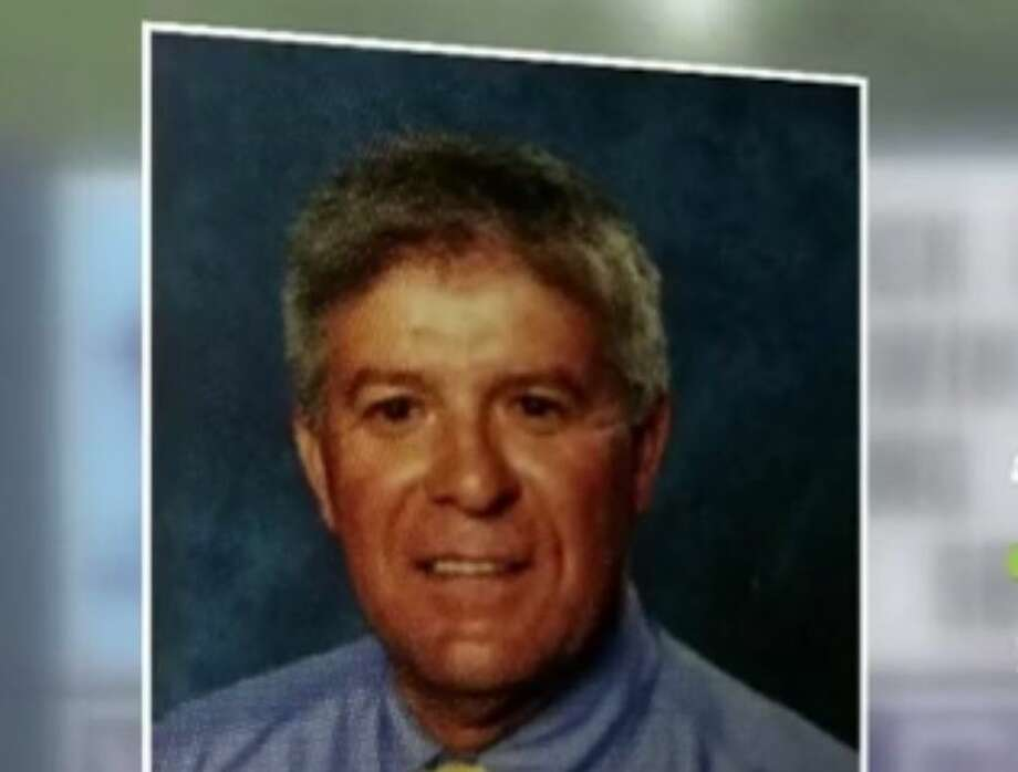 John Sousa is a teacher at Tampa Bay-area Wesley Chapel High School. He's accused of making a racist, Trump-related comment at students. Photo: Tampa Bay Times Screenshot