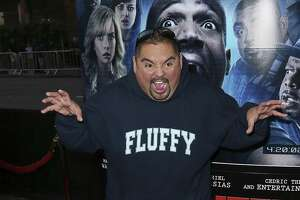 "Actor Gabriel Iglesias attends the premiere of Open Road Films' ""A Haunted House 2"" at Regal Cinemas L.A. Live on April 16, 2014 in Los Angeles, California.  (Photo by David Livingston/Getty Images)"