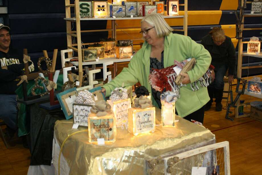 The Huron Daily Tribune hosted our annual Mistletoe Market on Saturday. Photo: Rich Harp/For The Tribune