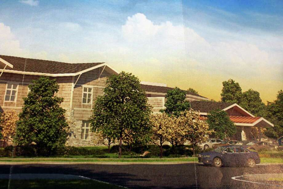 A rendering of a proposed 64-unit assisted living facility for property on Stillson Road. A Town Plan and Zoning hearing is scheduled for Tuesday at 7:30 p.m. at McKinley School. Fairfield, Ct. 11/14/16 Photo: Contributed / Contributed Photo / Fairfield Citizen
