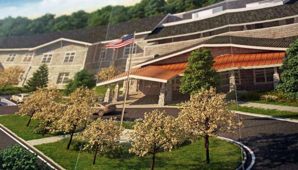 A Rendering Of A Proposed 64 Unit Assisted Living Facility For Property On  Stillson Road