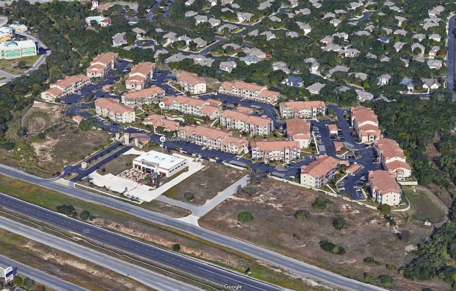 A partnership affiliated with the Milestone Group real estate investment firm has bought the $43 million Costa Bella apartment complex along Loop 1604. Photo: Google Maps