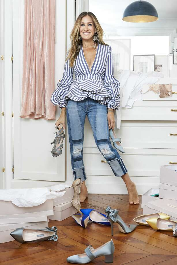 Sarah Jessica Parker and Net-A-Porter have teamed up for a 16-piece holiday shoe collection, which is available starting Thursday, Nov. 17. Photo: Net-A-Porter