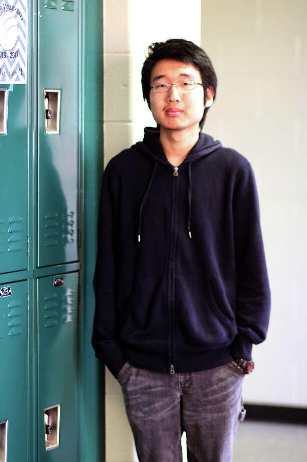Foster High School senior Zhi Wei Liang is a finalist in the National QuestBridge Scholar Program. Photo: Lamar CISD