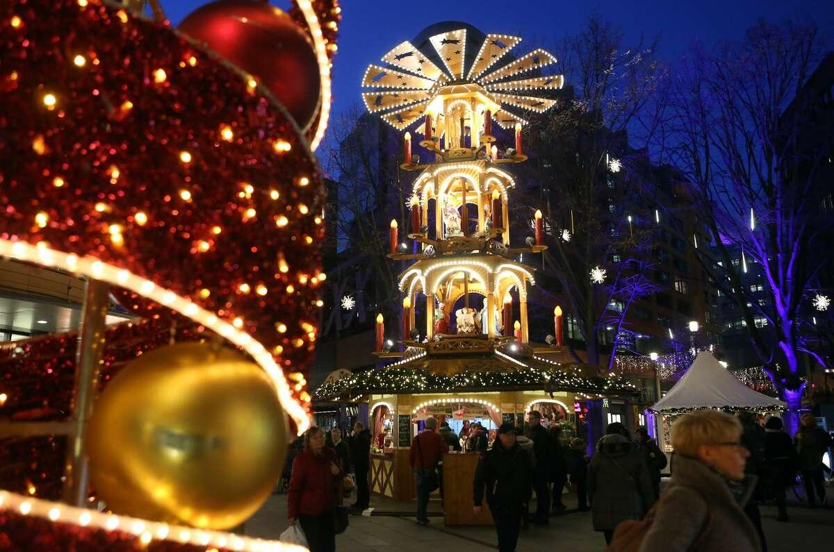 Berlin, Germany Attractions: Winter Wonderland Christmas Market, Brandenberg Gate, Berlin Wall, Dec. 22 - Jan. 2Flights starting at $2,015NYC (JFK, LGA, EWR) - BER