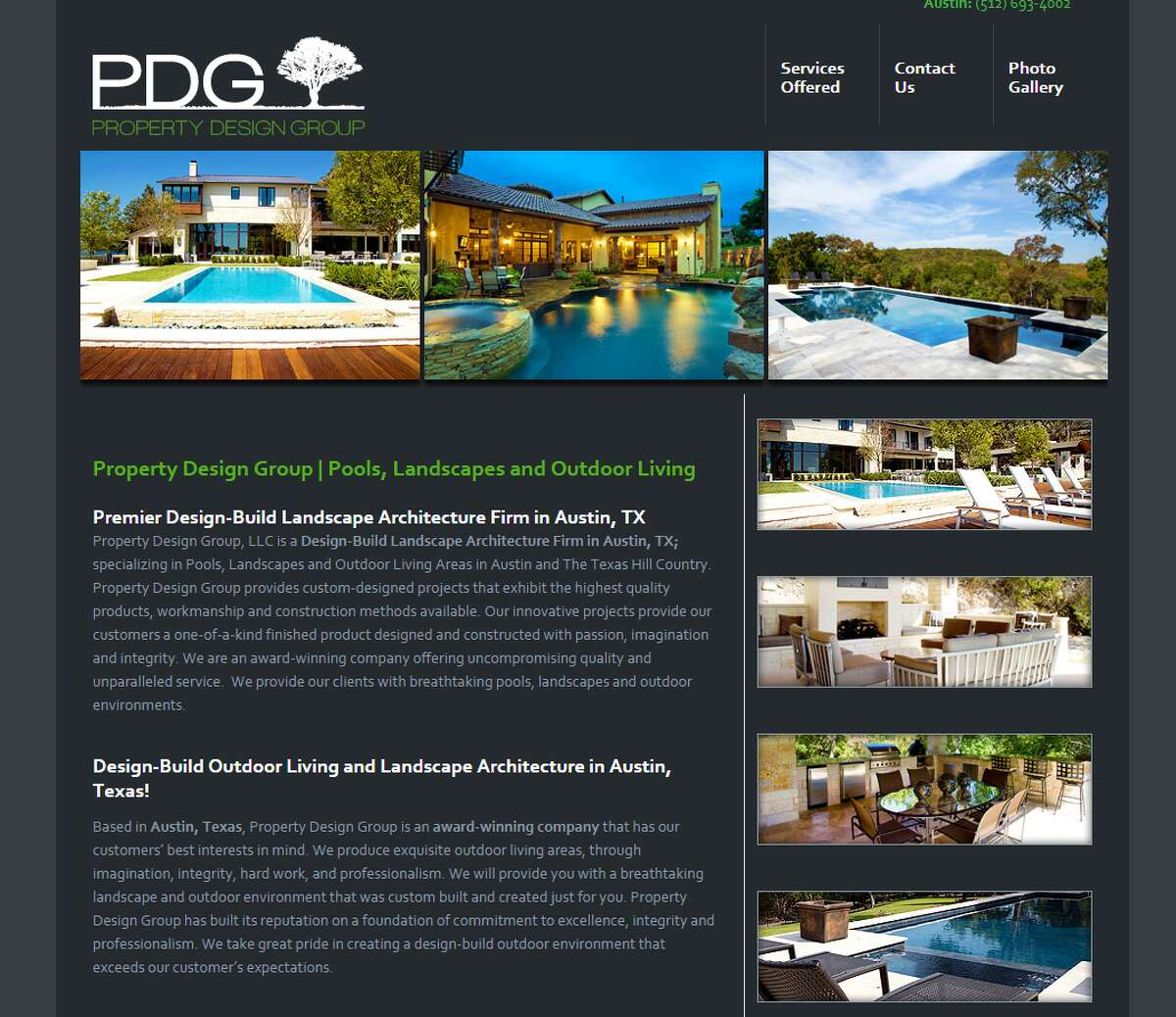 29. Property Design Group, LLC Industry: Construction Growth-rate: 59.645 percent Location: Austin, Texas
