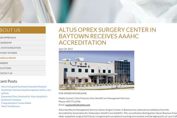 24.     Oprex Surgery Baytown, LP   
