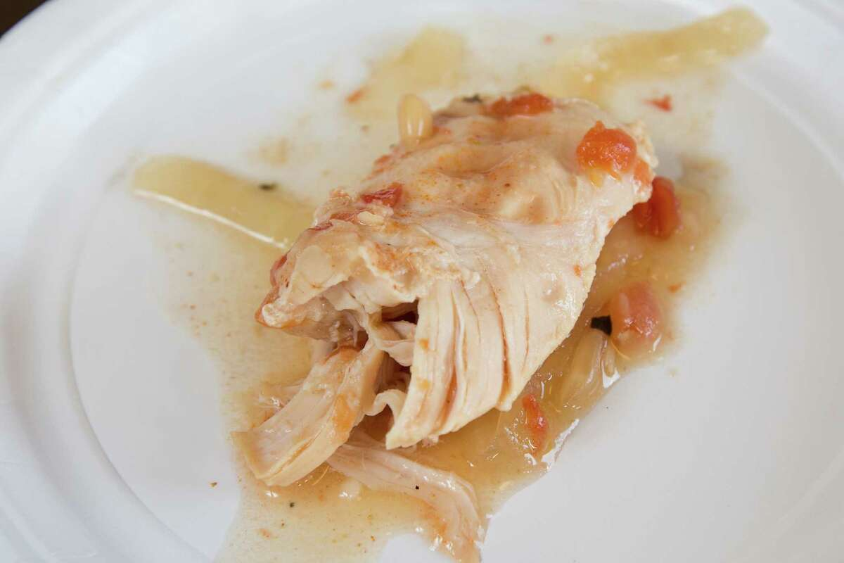 Easy White Bean Chicken Crockpot Dish