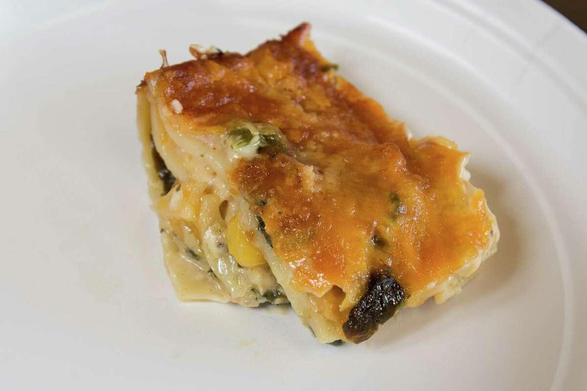 Easy Chicken Poblano Lasagna