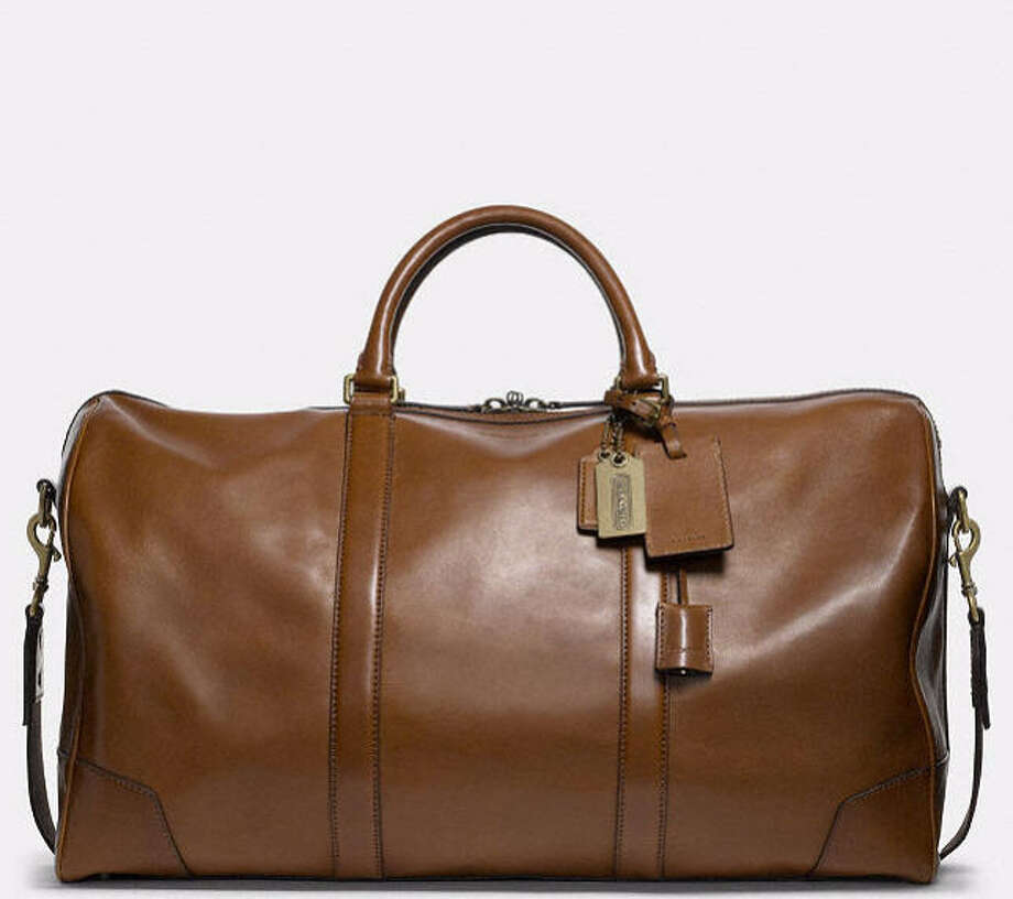Coach Bleecker Cabin Bag: Ditch that nylon gym bag that you used during your D1 days-or got at your last company retreat-for a more age-appropriate carry-all such as this classic leather bag from Coach.  It's big enough to hold whatever gear you may have, plus suit and dress shoes, and can go from the gym to office to date night and back again without anyone blinking an eye. Best part: Toss it in your locker with abandon. The high-quality leather will only get better with age. ($898, coach.com) Photo: Coach