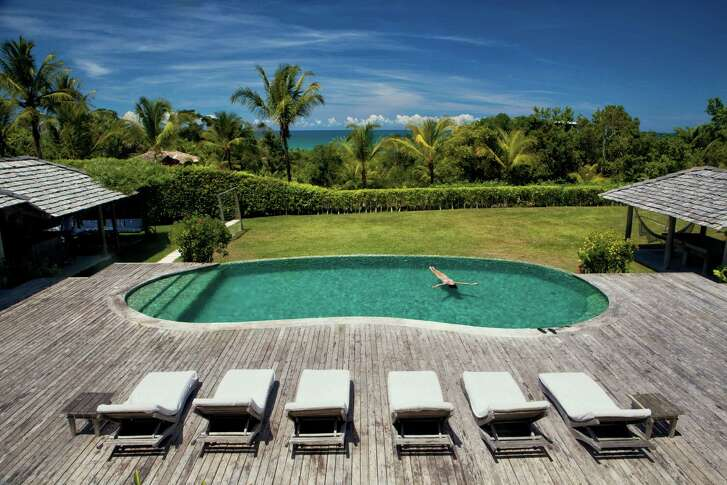 Although the Novogratz family visits their Trancoso, Brazil, home once or twice a year, they often rent it out.