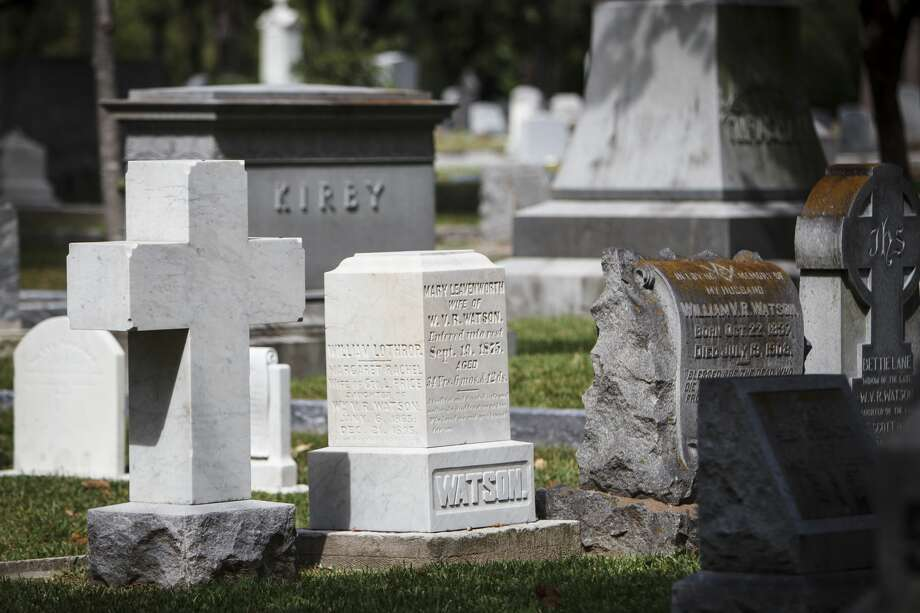 LISTED: Notable people who are buried in the Houston area and where you can visit them  Of all the interesting things to do in Houston, a tour of the Bayou City's cemeteries is something that we can't recommend enough.  See where some of the city's movers and shakers eternally reside... Photo: Michael Paulsen/Houston Chronicle