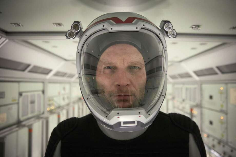 """This image released by National Geographic shows Ben Cotton as Ben Sawyer, the American mission commander and systems engineer on the Daedalus, in a scene from the series, """"Mars,"""" premiering Monday at 9 p.m. ET on the National Geographic channel. The series brought together scientific consultants, director Everardo Gout, producer Justin Wilkes as showrunner, and executive producers Ron Howard and Brian Grazer. (Robert Viglasky/National Geographic Channels via AP) Photo: Robert Viglasky, HONS / Associated Press / National Geographic Channels"""