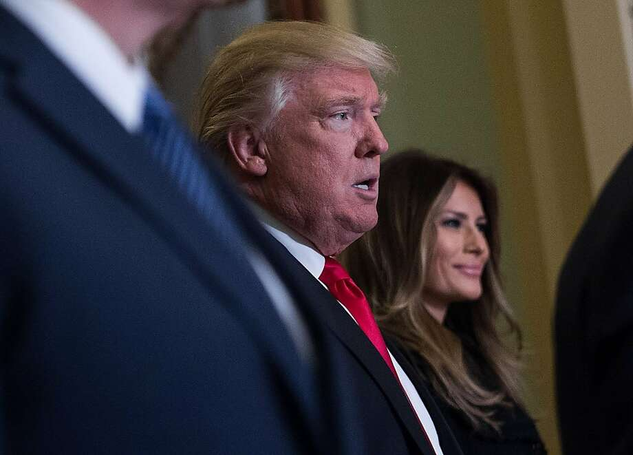 President-elect Donald Trump and his wife Melania on high alert. Photo: NICHOLAS KAMM, AFP/Getty Images