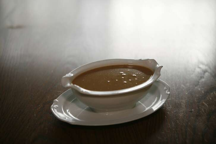 Chronicle Classic: Best Way Gravy for Brined Turkey