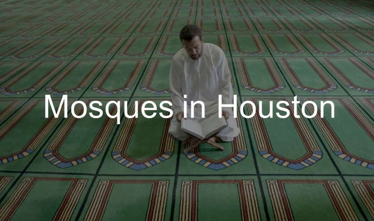 Mosques in Houston.