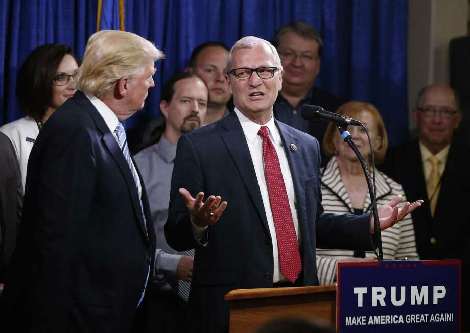 Donald Trump picked Rep. Kevin Cramer, a North Dakota Republican and climate change skeptic, as an energy adviser. Photo: Associated Press /File Photo / Copyright 2016 The Associated Press. All rights reserved. This material may not be published, broadcast, rewritten or redistribu