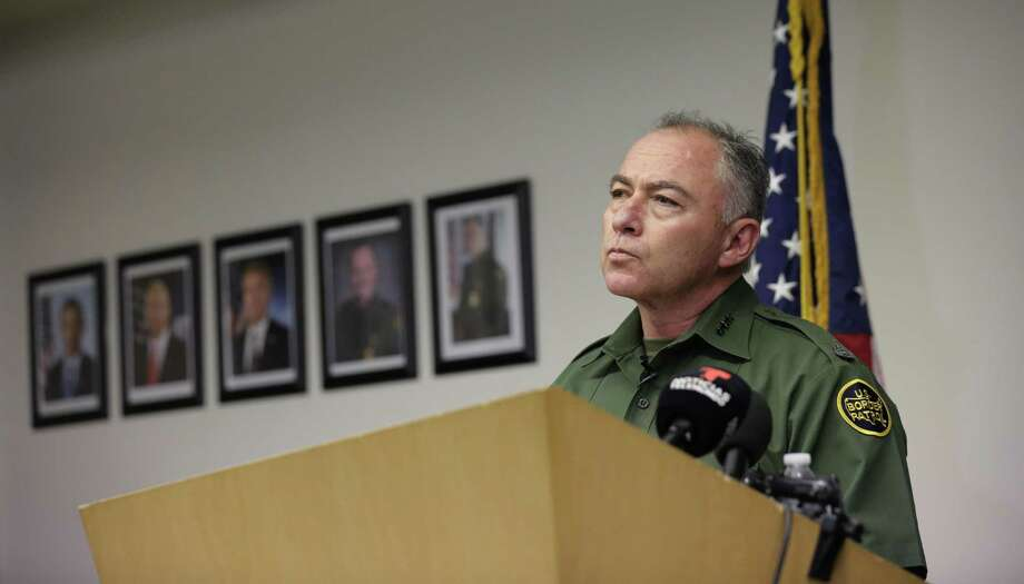 U.S. Customs and Border Patrol Sector Chief Manuel Padilla Jr. talks to the media during a news conference, Monday, Nov. 14, 2016, in Edinburg, Texas. In response to a surge in asylum-seekers from violence-wracked Central America, the Border Patrol has sent 150 reinforcements from neighboring states to the Rio Grande Valley. (AP Photo/Eric Gay) Photo: Eric Gay, STF / Associated Press / Copyright 2016 The Associated Press. All rights reserved.