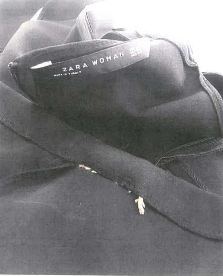 A young woman is suing the clothing company, Zara after finding a dead mouse sewn into the hem of her new dress. Photo: Court Document Screen Shot