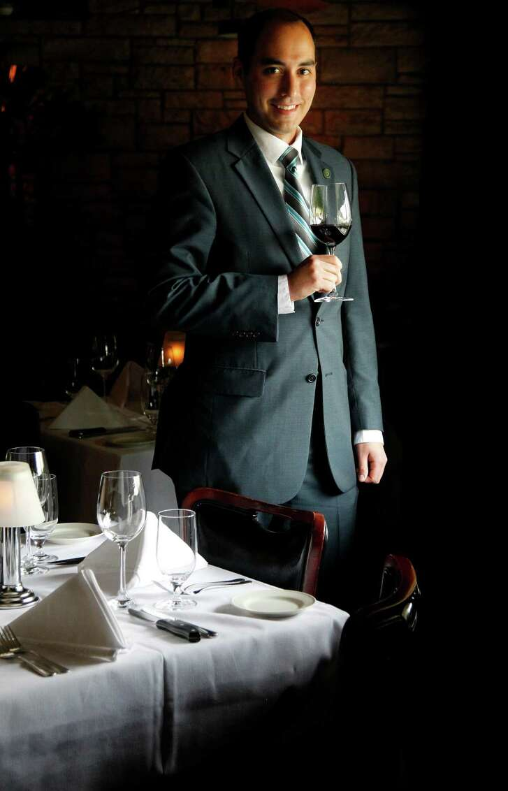 Steven McDonald is the wine director at Pappas Bros. Steakhouse.