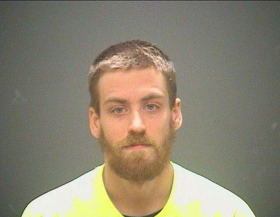 Zachary Benson, a 24-year-old from the suburbs of Cleveland, Ohio, may be the first person arrested and charged with threatening to kill President-elect Donald Trump. Benson tweeted on election night and quickly got a visit from the Secret Service. Photo: Cuyahoga County Sheriff's Office