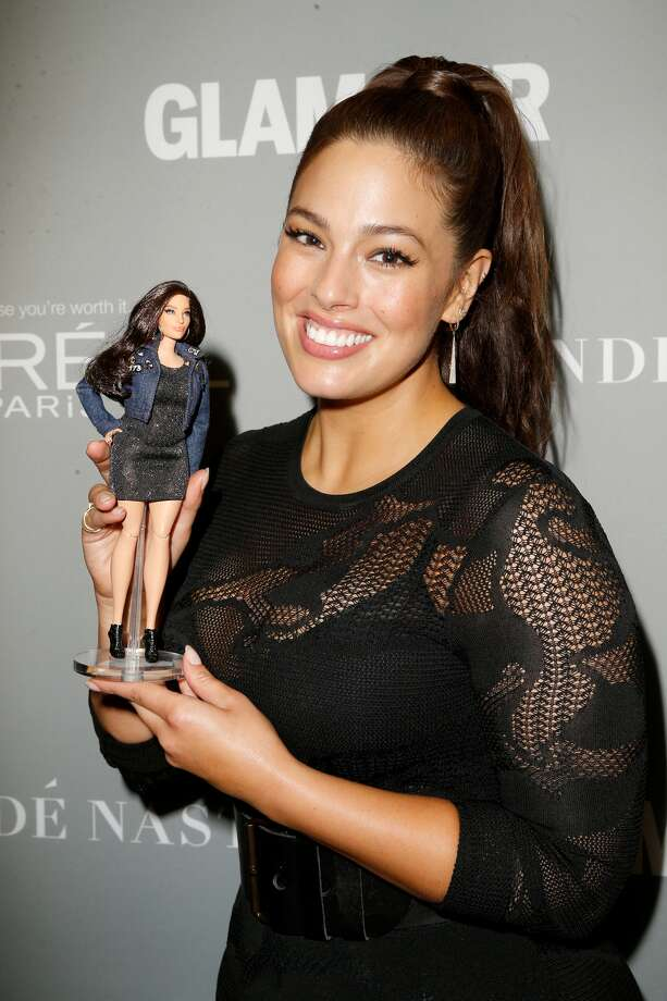 Plus-sized model, Ashley Graham was presented with her own Barbie, made to her measurements.>>KEEP CLICKING TO SEE OTHER PLUS-SIZED MODELS YOU SHOULD KNOW. Photo: Getty Images
