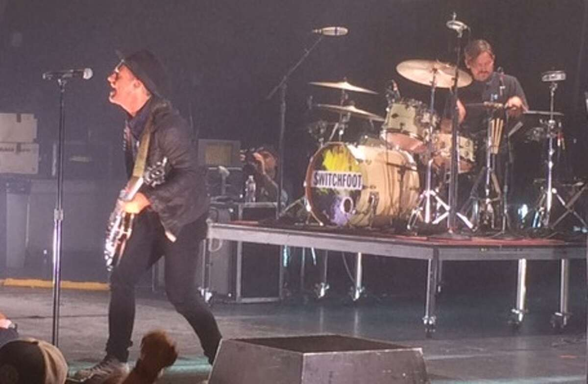 """Switchfoot brought its """"Looking for America"""" tour to San Antonio on Monday."""
