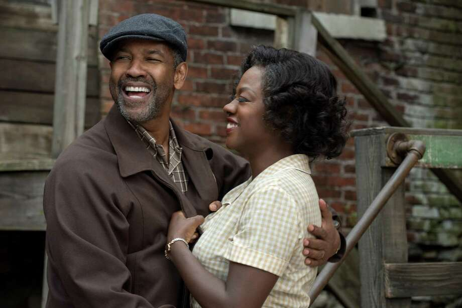 "Denzel Washington plays Troy Maxson and Viola Davis plays Rose Maxson in ""Fences,"" reprising their roles from the Tony Award-winning play. Both could be nominated for Academy Awards. Photo: David Lee /Courtesy Paramount / © 2016 Paramount Pictures. All Rights Reserved."