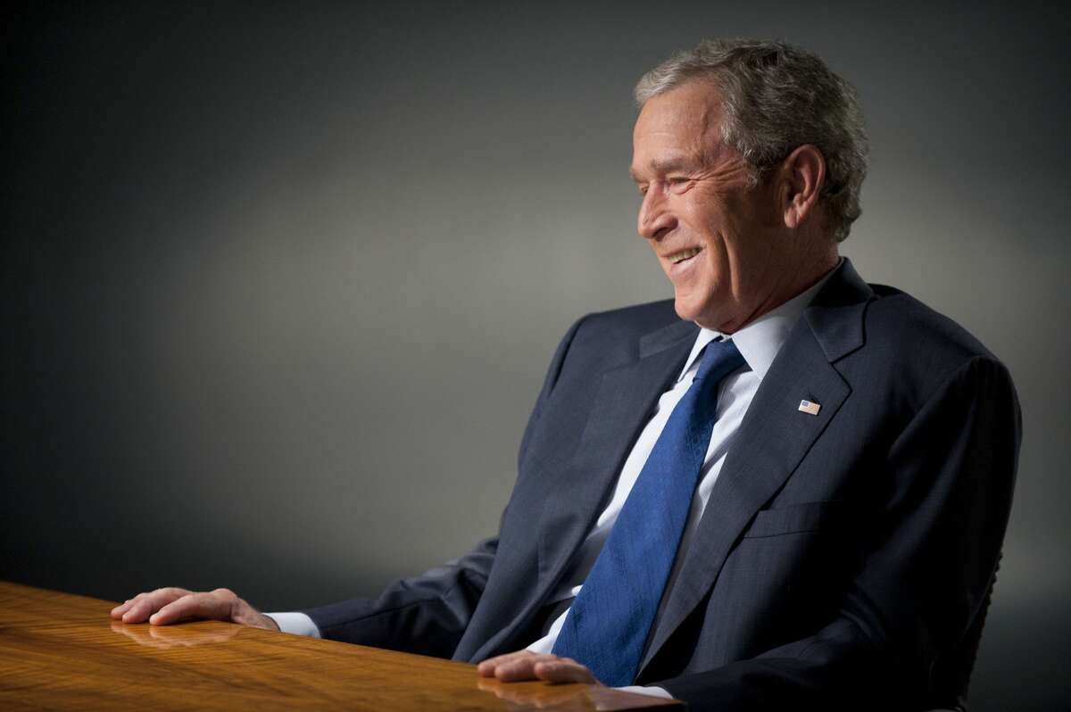 What has former President George W. Bush been up to since he left the White House? Today the 43rd president is known as a smiling painter, a doting grandfather, a staunch ally of the wounded warriors that went to war under his watch, and now, the proud owner of a new puppy from his local SPCA in Dallas. Click-thru to see some highlights of the past 8 years of the life of Bush 43...