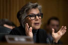 WASHINGTON, DC - MAY 26: Committee ranking member Sen. Barbara Boxer (D-CA) questions witnesses during a Senate Foreign Relations Committee hearing concerning cartels and the U.S. heroin epidemic, on Capitol Hill, May 26, 2016, in Washington, DC. According to the U.S. Centers for Disease Control and Prevention, from 2002 to 2013 the rate of heroin-related deaths quadrupled in the United States, with most of the increase coming after 2010. (Photo by Drew Angerer/Getty Images)