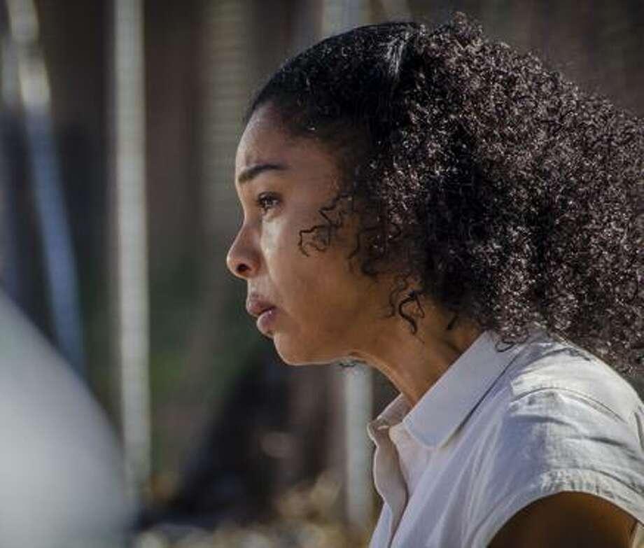 "Maya Cobbina (Sophie Okonedo) in ""Undercover."" Photo: Coco Van Oppens / Coco Van Oppens Photography / Copyright BBC 2015"