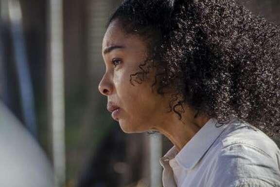 """Maya Cobbina (Sophie Okonedo) in """"Undercover."""""""