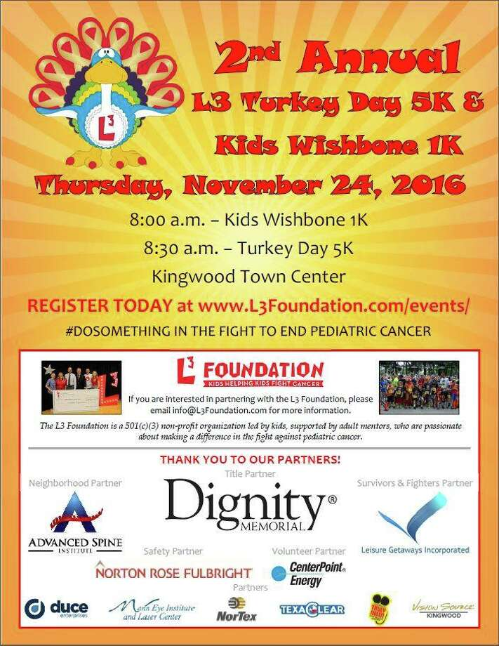 Kingwood Turkey Trot Photo: Submitted