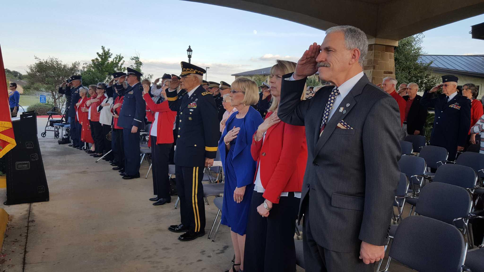 Veterans Day Celebrated At Arc San Antonio Express News