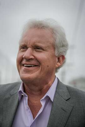 General Electric CEO Jeff Immelt stands for a portrait outside the GE Minds + Machines conference, in San Francisco, California, on Tuesday, Nov. 15, 2016.