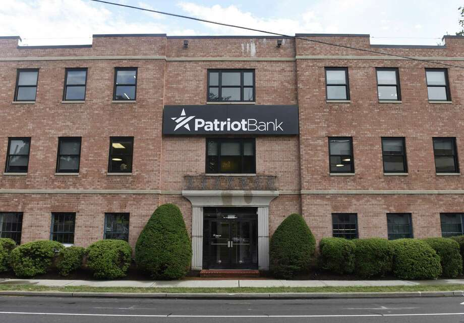 Patriot Bank's company headquarters on 900 Bedford Street in Stamford. Photo: Tyler Sizemore / Hearst Connecticut Media / Greenwich Time
