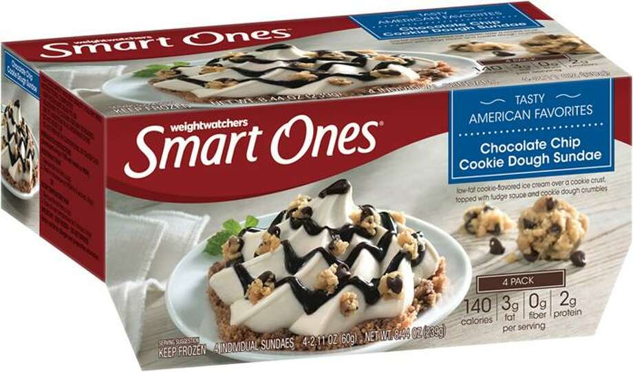Weight Watchers Smart Ones Chocolate Chip Cookie Dough Sundae frozen desserts are being recalled. Photo: Contributed / Contributed