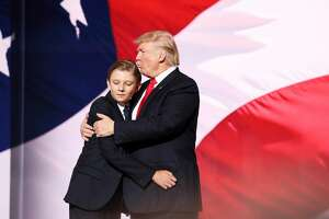 Barron Trump     Barron Trump is the first President's son to live in the White House in 53 years. The last male child in the White House was John F. Kennedy Jr. in 1963.   Source:  Good Morning America