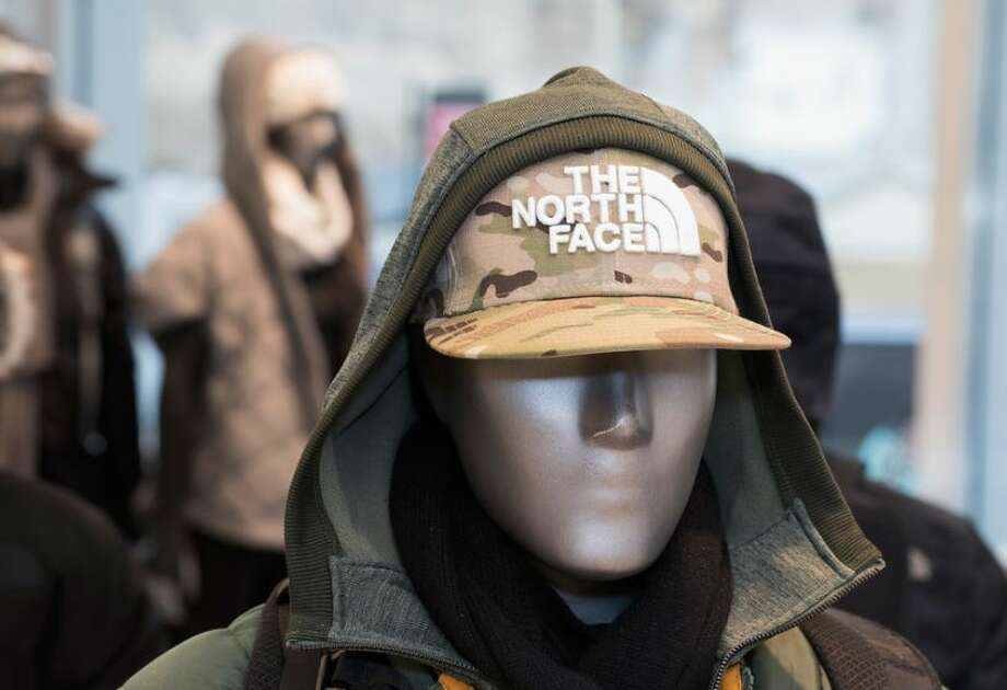 A mannequin in The North Face's flagship store on New York's Fifth Avenue. The retailer opens its first branded store in Houston on Friday, Nov. 18, 2016. Photo: The North Face, Contributed Photo