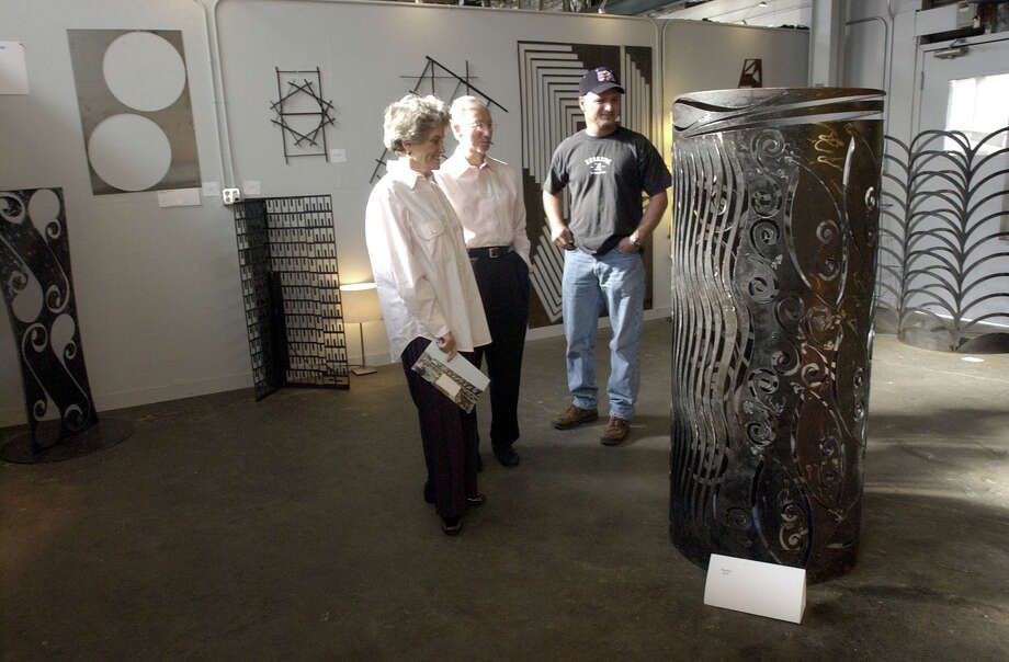 More than 150 artists will open the doors to their studios on Saturday and Sunday during Art Crawl Houston 2016. Photo: Kim Christensen, Freelance / Freelance