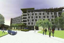 Renderings for The Stella in College Station.