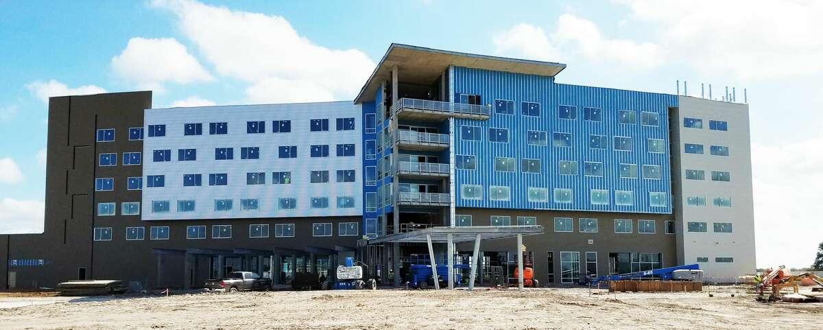Development progress at The Stella in College Station, Nov. 3, 2016.