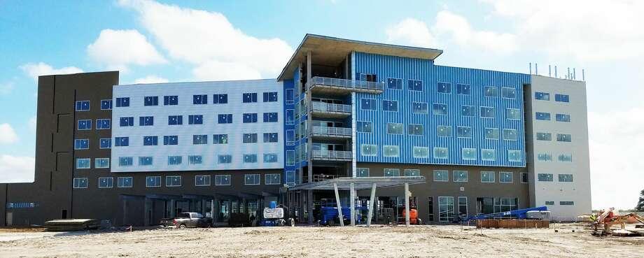 Development progress at The Stella in College Station, Nov. 3, 2016. Photo: Courtesy