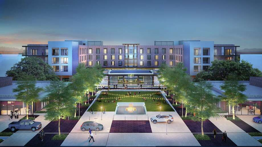 Renderings for The George in College Station. Photo: Courtesy