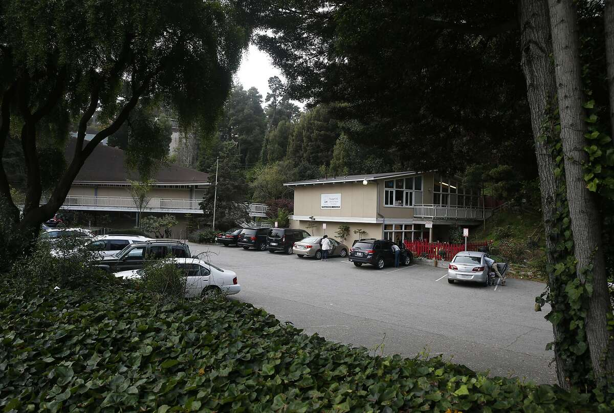 Cars are parked in the lot at the Forest Hill Christian Church on Laguna Honda Boulevard in San Francisco, Calif. on Tuesday, Nov. 15, 2016. Residents are unhappy with a proposed plan to build 150 units of affordable senior housing on the site.