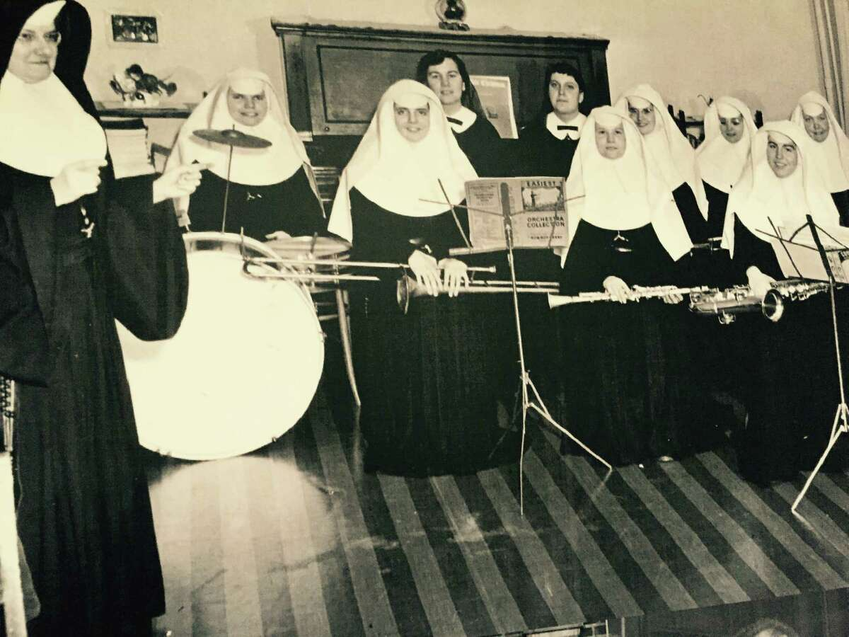 From the archives of the Sisters of Mercy convent on New Scotland Avenue in Albany across the decades (Photo courtesy of the Sisters of Mercy)