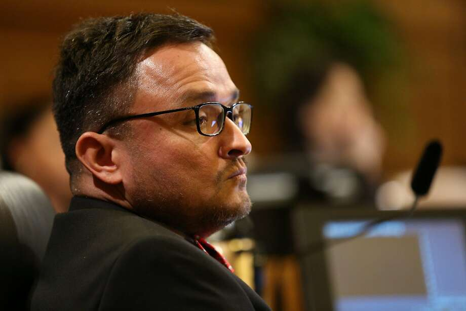 Supervisor David Campos, during a Board of Supervisors meeting at City Hall, on Tuesday, Nov. 15, 2016 in San Francisco, Calif. Photo: Santiago Mejia / The Chronicle