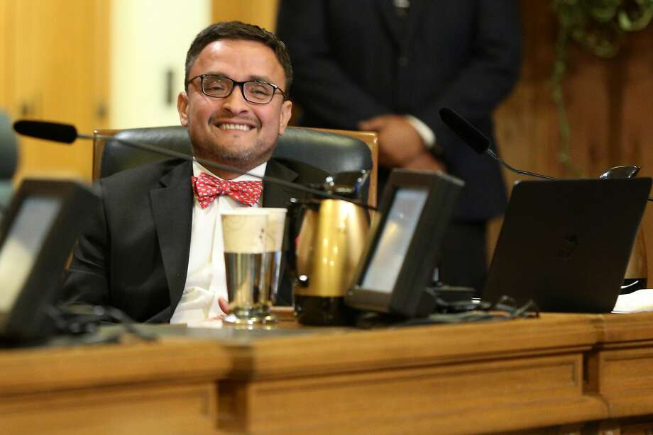 Then-Supervisor David Campos during a Board of Supervisors meeting at City Hall on Nov. 15. Photo: Santiago Mejia, The Chronicle